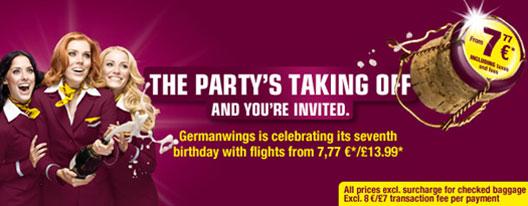 Image: germanwings 7th birthday