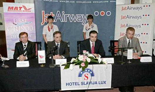 Image: Jat Airways / MAT Agreement