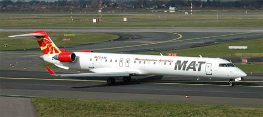 Image: MAT CRJ 900 Plane