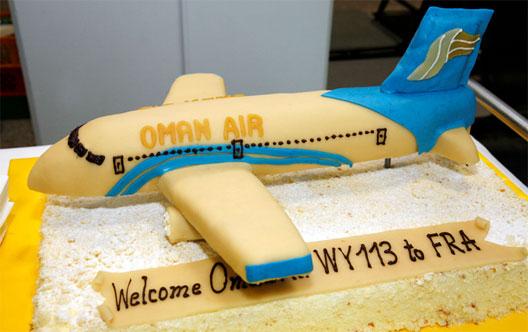 Image: Oman Air Cake