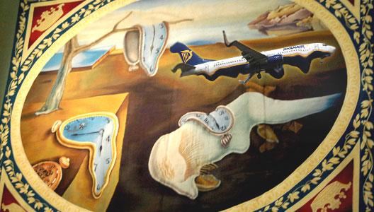 Image: Ryanair Salvador Dalí