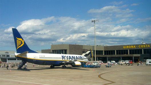 Image: Ryanair at Girona