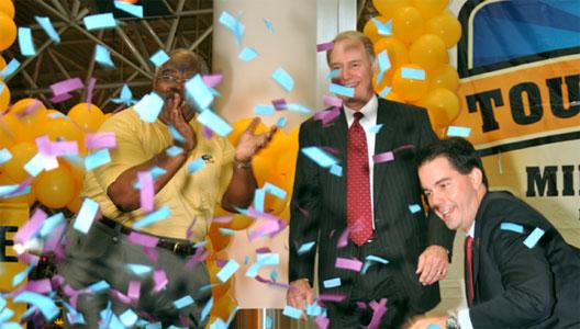 Image: Southwest confetti