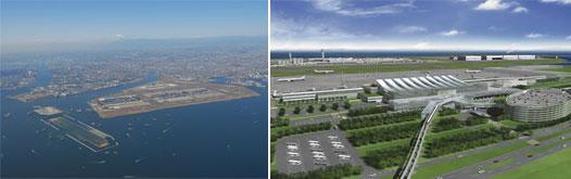 "Image: Tokyo Haneda - ""Runway D"" under construction"