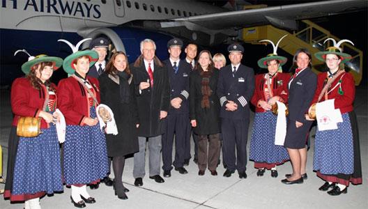 Image: Innsbruck welcome British Airways
