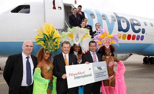 Image: flybe samba dancers