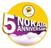 Image: Nok Air anniversary logo