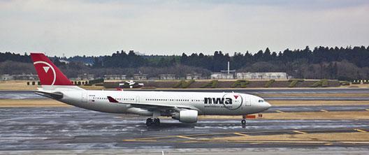 Image: nwa plane