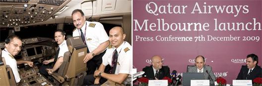 Image: Qatar Airways Malbourne Launch