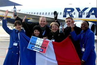 Image: Ryanair's Brussels Charleroi-based crew
