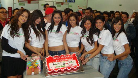 Imagem: vivaaerobus.com 3 aniversário