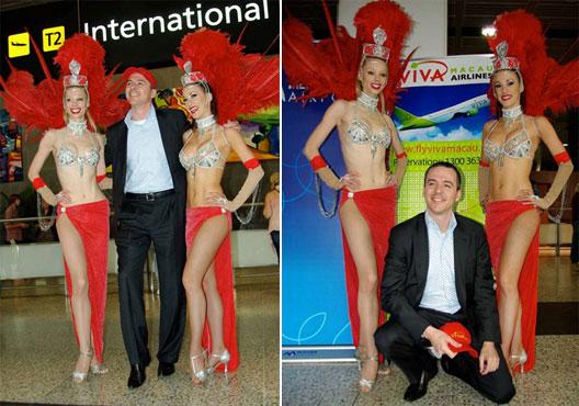 Image: Viva Macau's CEO Reg Macdonald