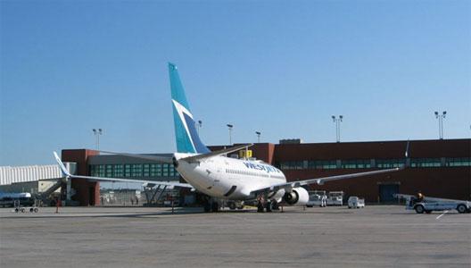 Image: WestJet at Regina