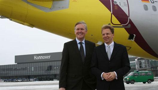 Image: germanwings Hannover base