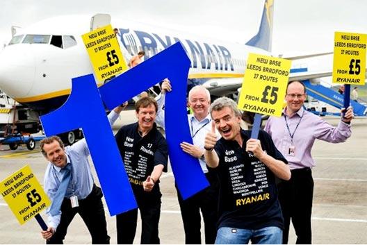 Image: Ryanair launch
