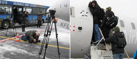Image: SAS' return to Vilnius