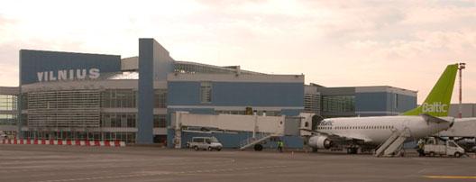 Image: Vilnius airport