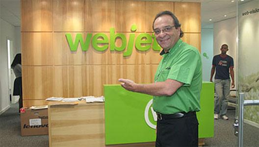 Image: webjet's CEO Wagner Ferreira
