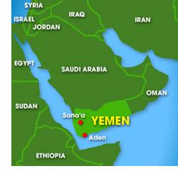 Map: Yeman