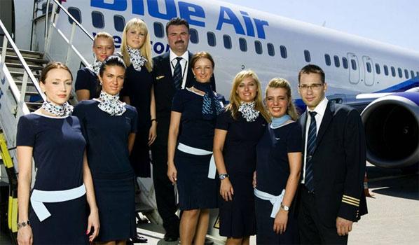 Blue Air's crew