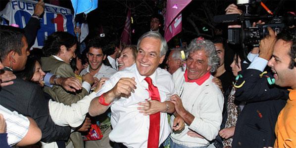 Chilean president elect Sebastián Piñera