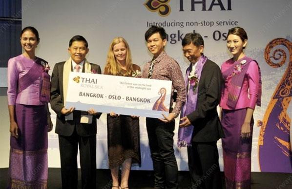 Thai Airways service to Oslo