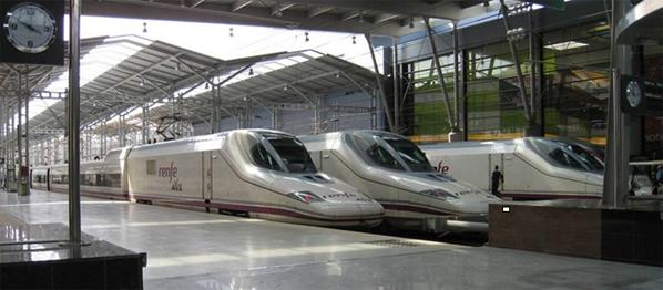 María Zambrano high-speed AVE train station