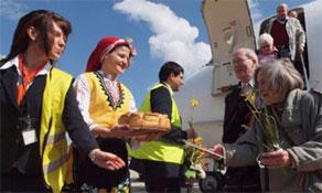 Bulgaria's airport traffic trebles in eight years; Sofia traffic down just 3% in 2009; Wizz Air still gaining on Bulgaria Air