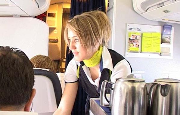 airBaltic stewardess