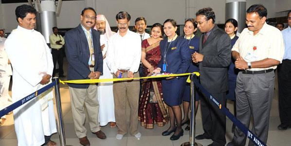 Jet Airways route launch