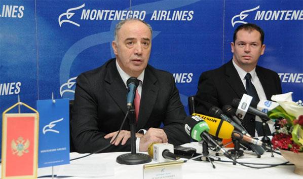 The chairman of Montenegro Airlines, Zoran Djurisic