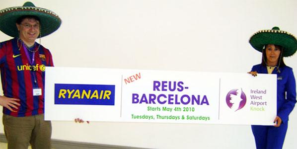 Ryanair- Reus - Barcelona