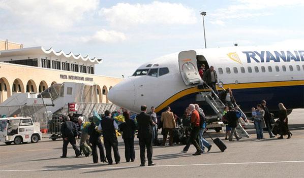 Ryanair at Malta