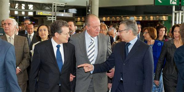 Inauguration of Málaga Airport's new Terminal 3