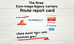 Iberia-British Airways merger creates third European mega-legacy carrier; each has different global network focus