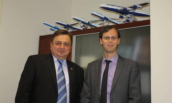 The deputy director general of Transaero, Dmitry Stolyarov