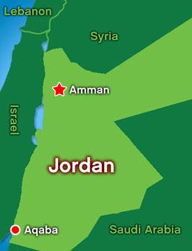 Map: Jordan