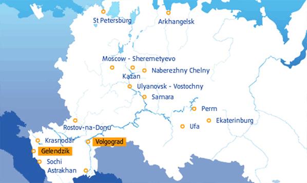 Avianova map