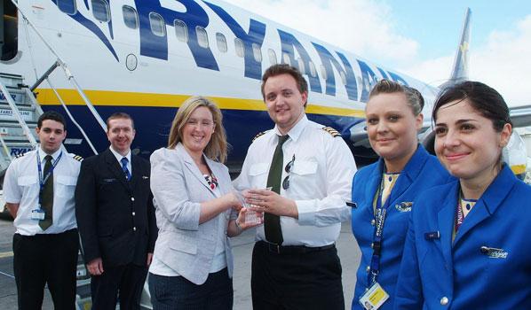 Ryanair at Cork