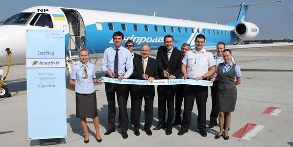 Aerosvit's new Berlin service