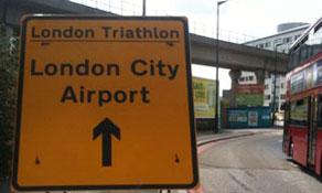London City Airport sponsors anna.aero Publisher in London Triathlon