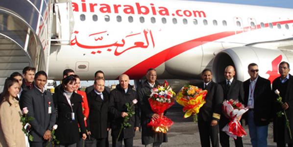 air arabia route launch