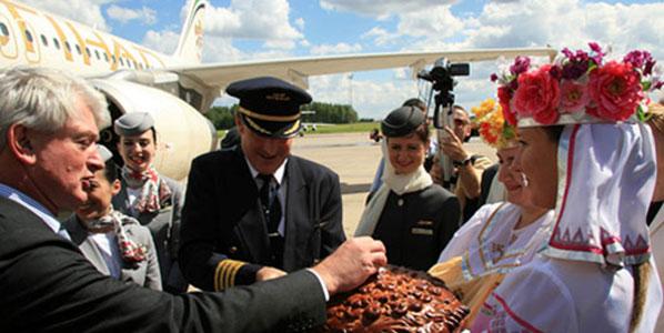 Etihad Airways launch Minsk-Abu Dhabi service in August 2008