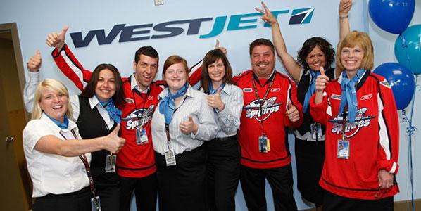 westJet Route Launch