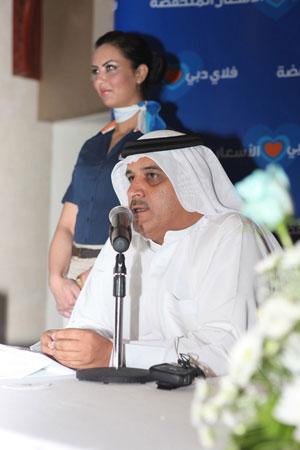 The CEO of fast-growing flydubai, Ghaith al Ghaith