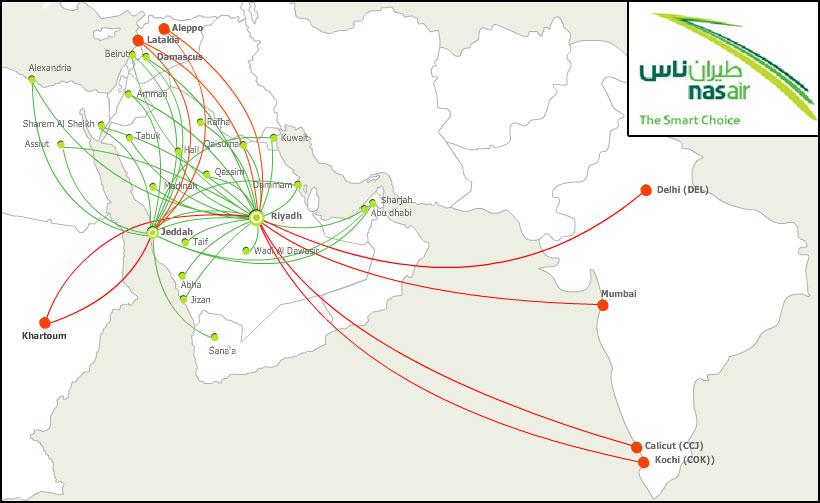 Nas Air now only Saudi LCC; two new links to Dubai will take ... Saudi And Dubai Map on jordan map, kuwait map, sudan map, yemen map, philippines map, singapore map, morocco map, bahrain map, ksa map, iraq map, syria map, bangladesh map, oman map, south africa map, dubai map, germany map, soviet union map, china map, japan map, tunisia map,