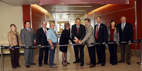 Phoenix/Mesa inaugurated its expanded terminal on 9 November
