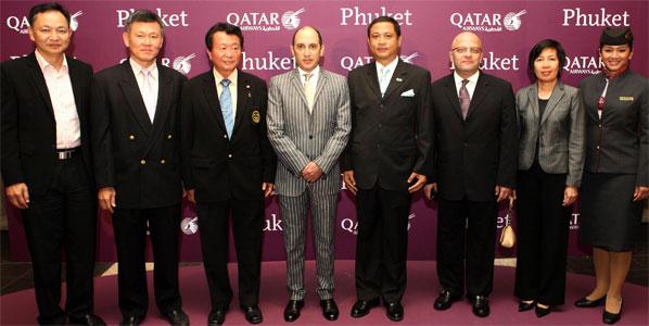 Qatar Airways launched flights to Phuket via Kuala Lumpur last month.