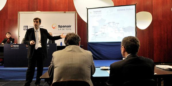 Spanair Chairman Ferran Soriano