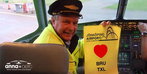 Jönköping's airport director Hazze Sandström